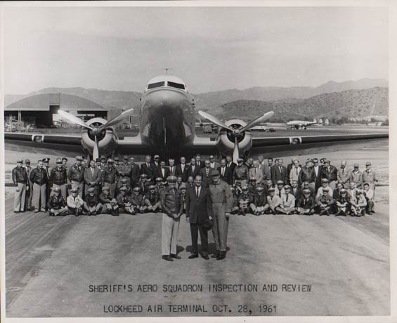 Sheriff's Aero Squadron, October 28, 1961