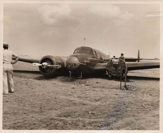 Lockheed 10 Crashed in Mojave Desert