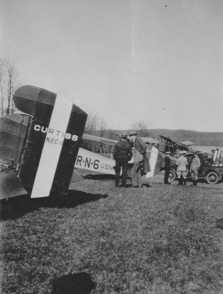 A Group of Curtiss N2C-1 Fledgelings, Ca. 1928-30 (Source: Barnes)