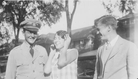 William H., Mary and Wesley McMullen, Ca. 1928-30 (Source: Barnes)