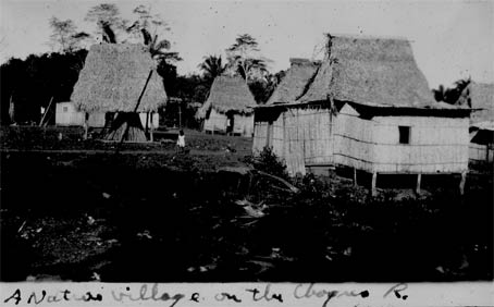 Village on the Chagres, Panama, Ca. 1929-30 (Source: Barnes)