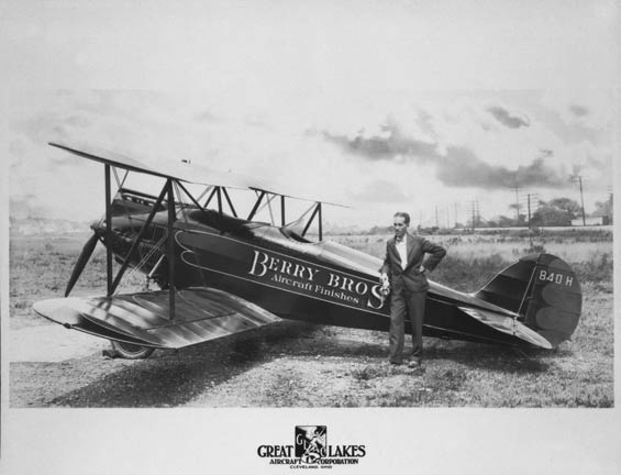 Great Lakes NC840H, Martin Field, Cleveland, OH, Date Unknown (Source: Kalina)