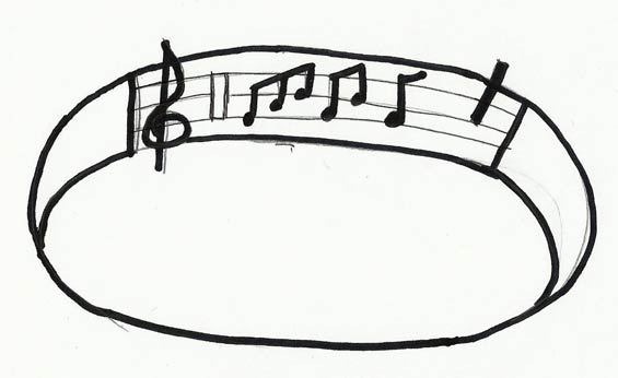 Interpretation of Musical Notes on Fuselage Bird Logo (Source: Brown)