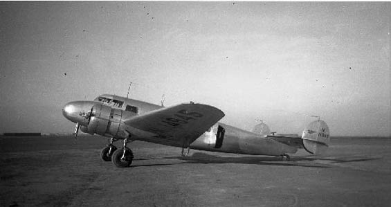 Lockheed 10A Electra, S/N 1032, Date & Location Unknown (Source: SDAM)