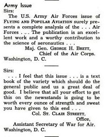 Flying & Popular Aviation Magazine, October, 1941 (Source: PA)