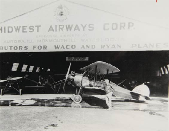 Livingston's Winning Airplane, Ford Tour, 1929 (Source: SDAM)