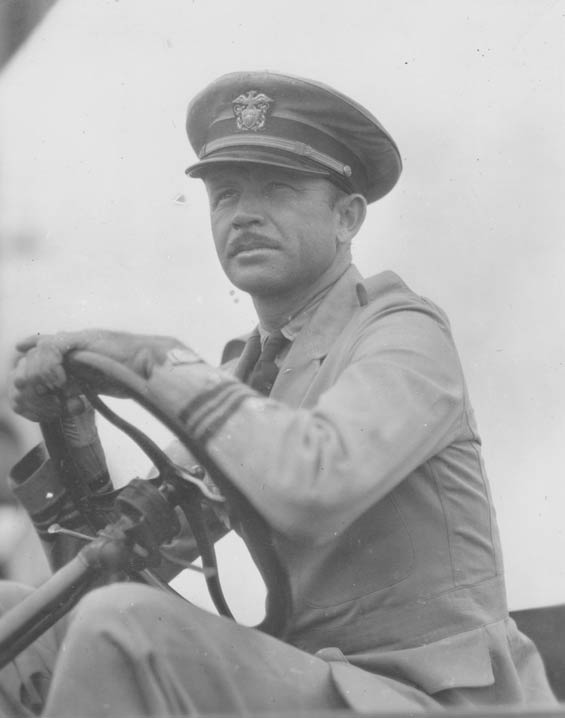 Unidentified Officer in Tug, Ca. 1928-30 (Source: Barnes)