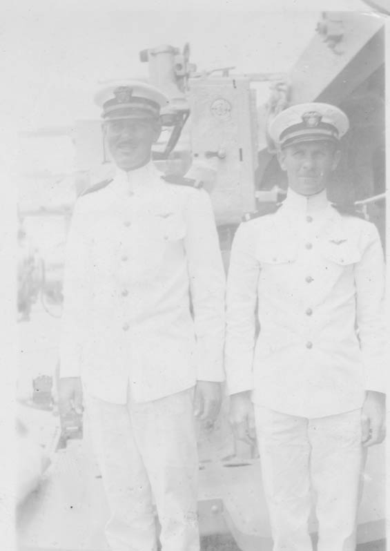 Two Unidentified Officers, Ca. 1928-30 (Source: Barnes)