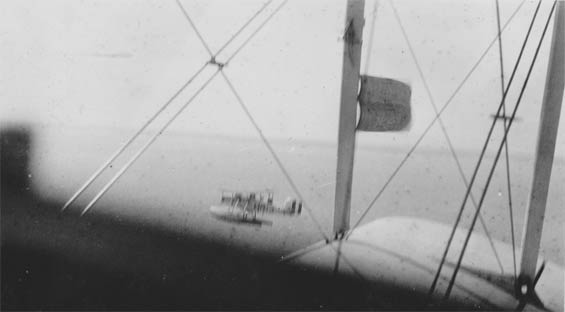 Flying Formation With a Curtiss C-7 (Source: Barnes)