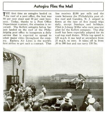 Popular Aviation, October, 1939 (Source: PA)