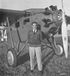 Stanley Stanton and Cessna NC632K (Source: Forden)