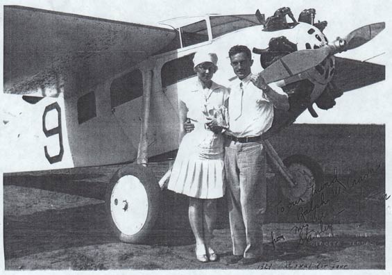 Stanley T. Stanton and Wife Billie, Date & Location Unknown (Source: NASM)