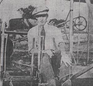 Bernard Whelan Learning to Fly, Ca. 1913 (Source: NASM)